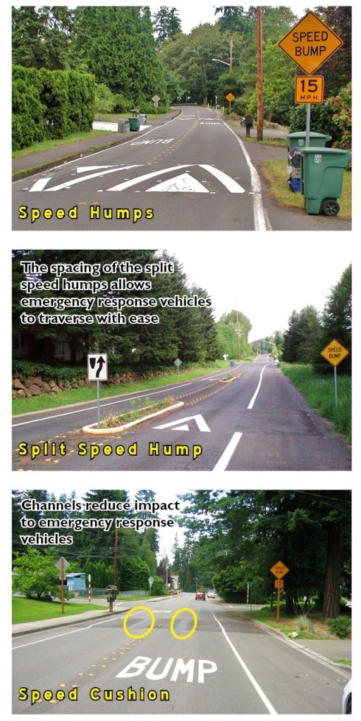 Speed Humps Comparison